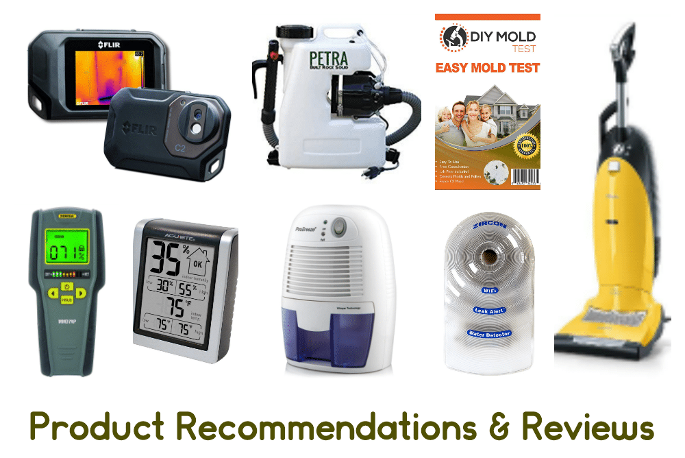 Mold related products including air purifiers, leak alarms, mold test kits, humidity moniters, and more