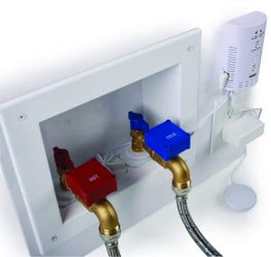 Automatic Laundry Water Leak Detector and Shut-Off System for Washing Machine Outlets