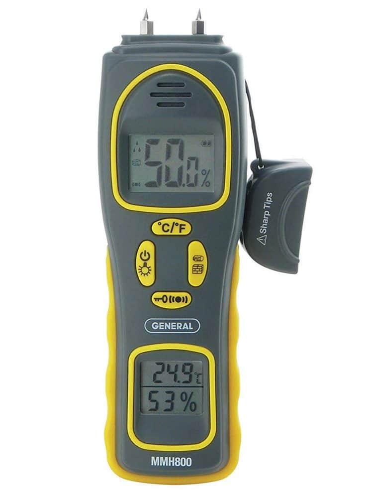 General Tools 4-In-1 Combo Moisture Meter