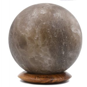 Gray Salt Lamp Globe