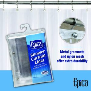 Mold Resistant Shower Curtain Liner