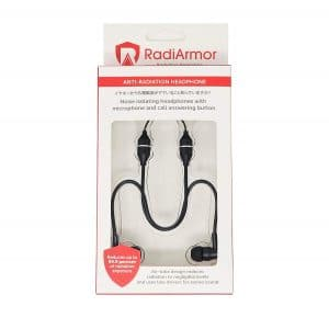 RadiArmor Anti-Radiation Air Tube Headphones
