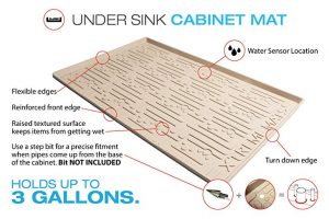 Xtreme Mats Under Sink Cabinet Mat