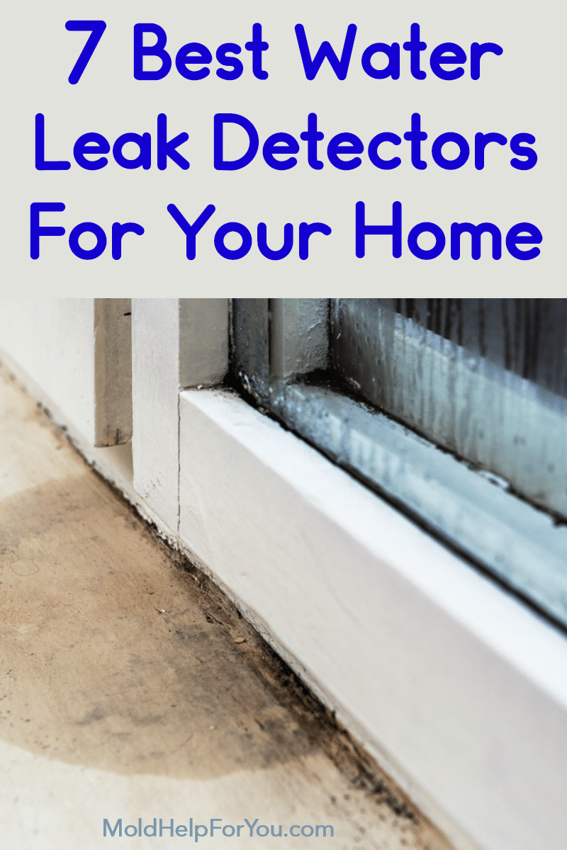 Leaky window that needs a water leak detector