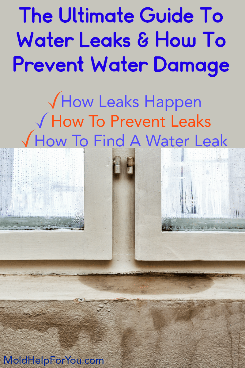 Leaking water from window. Are you wondering how to protect their home from water damage as well as prevent water leaks