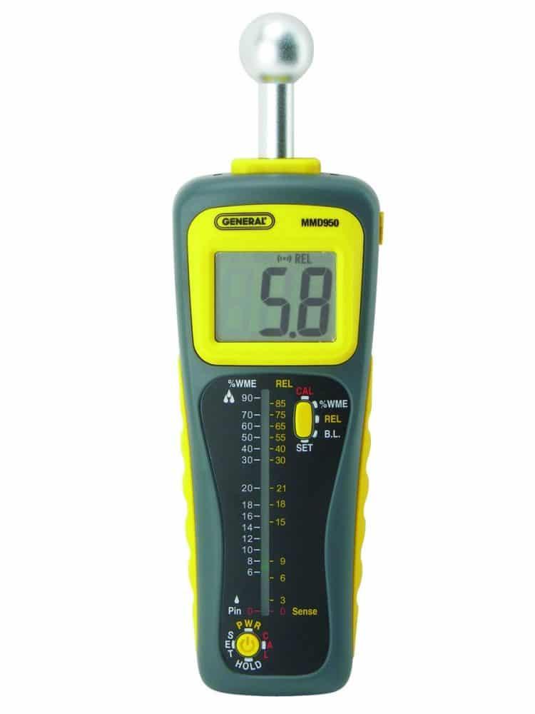 General Tools Deep Sensing Moisture Meter