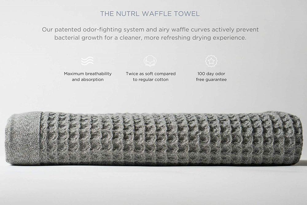 Nutrl Waffle Towels