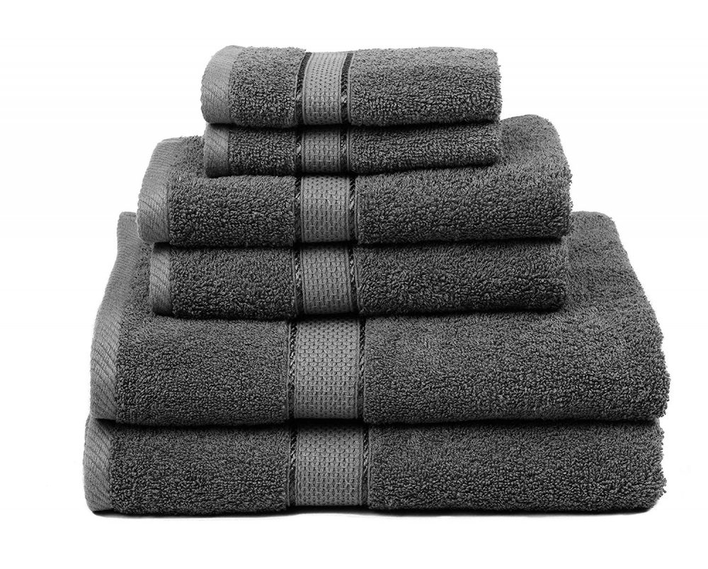 Aviv Collection 6 Piece Towel Set