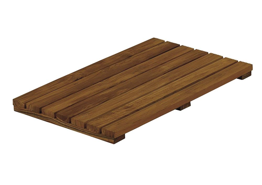 Conair Home Solid Teak Bathroom Mat