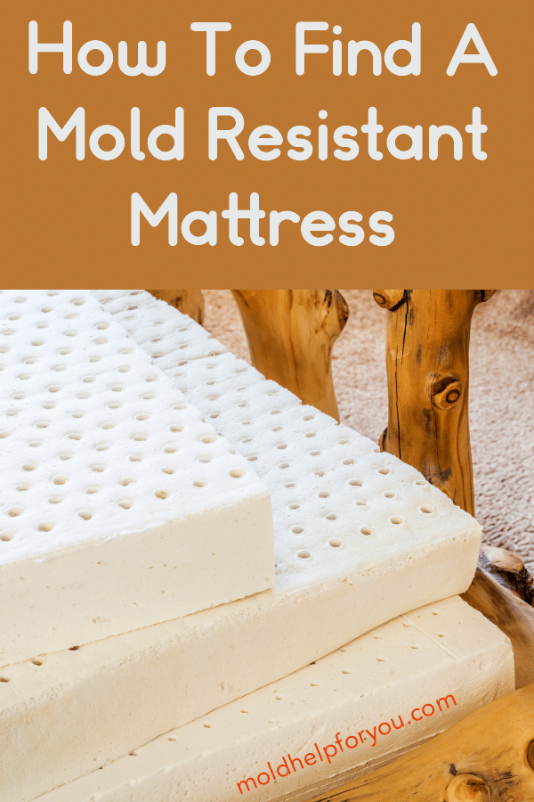 A stack of three mold resistant mattresses