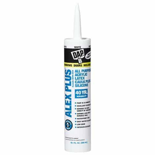 DAP ALEX PLUS Acrylic Latex Caulk Plus Silicone