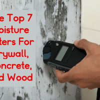 The Top 7 Moisture Meters For Drywall, Concrete, and Wood