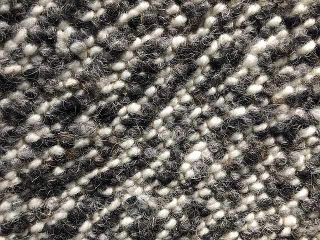 Mold Resistant Carpet - black and white berber
