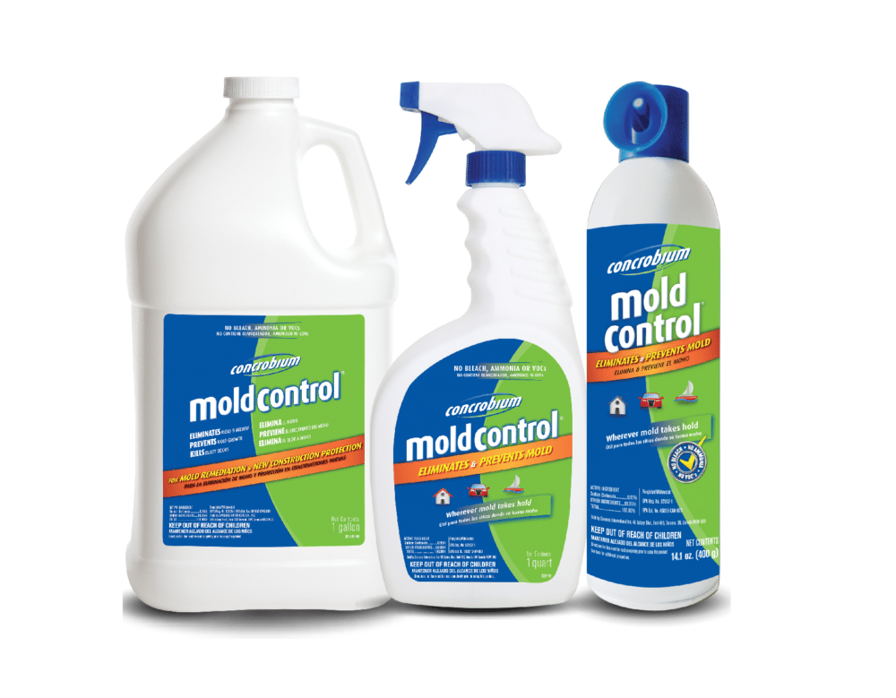 Various Concrobium Mold Control Products