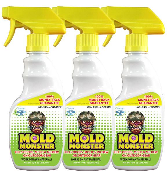 Mold Monster spray bottles