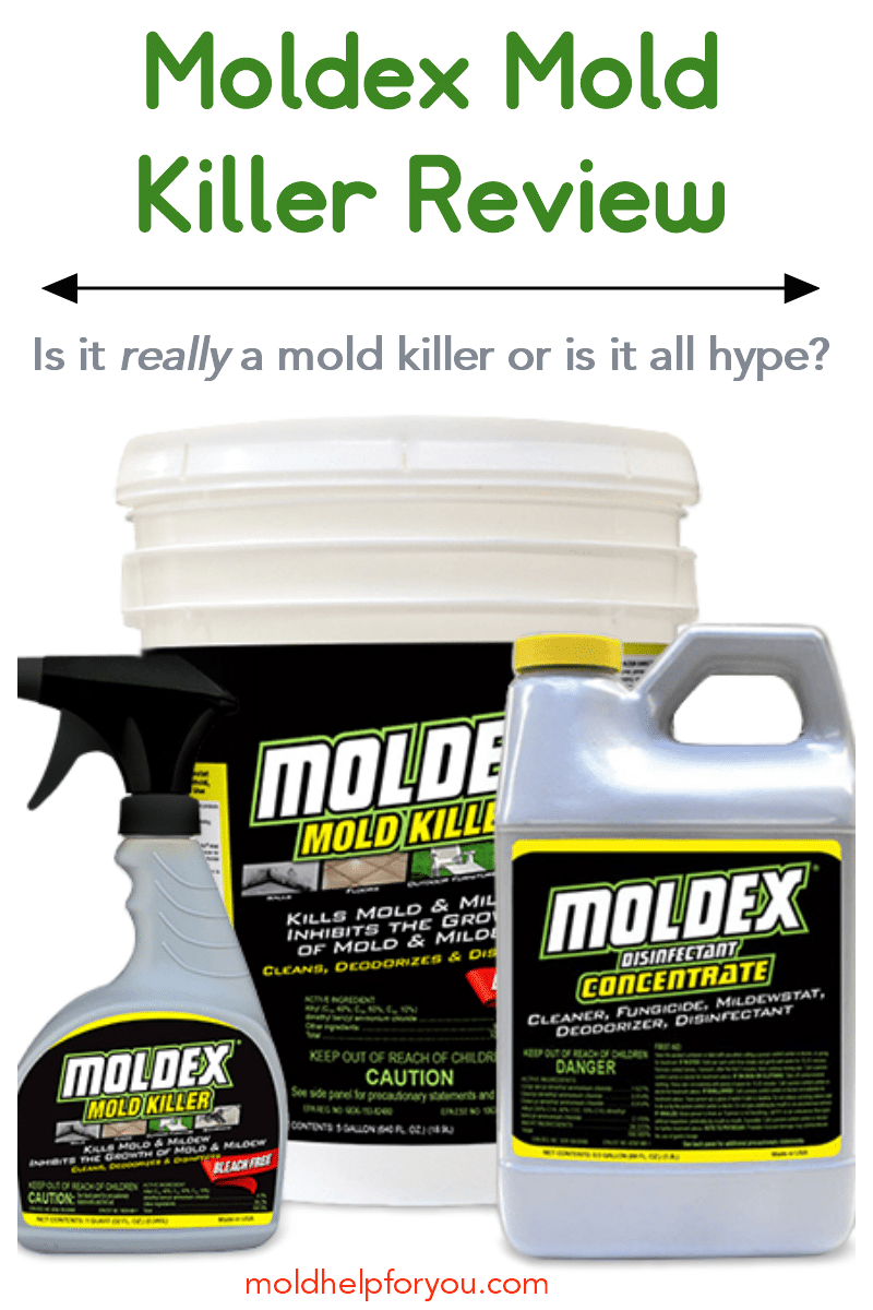 Bottles of Moldex Mold Killer