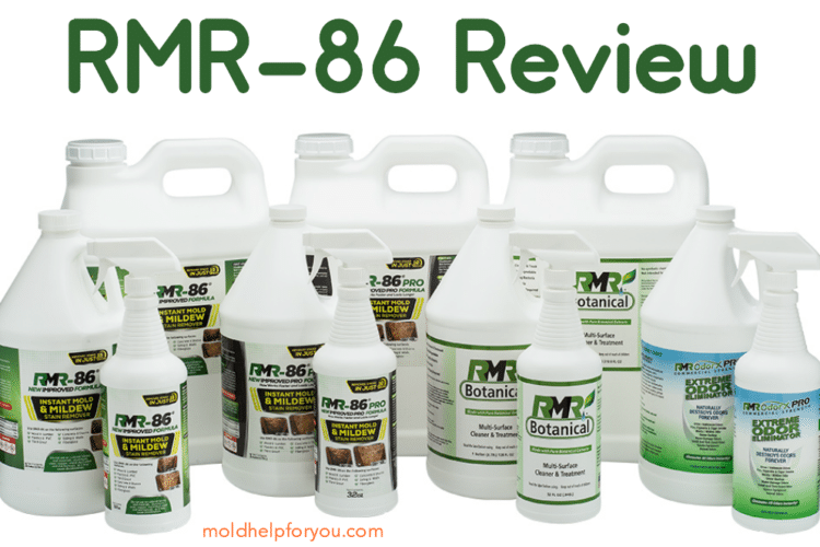RMR-86 Mold Remover Product Collage
