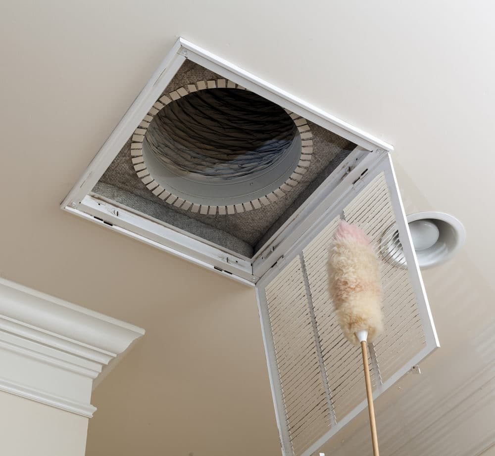 HVAC air duct