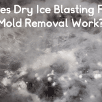Does Soda Blasting Or Dry Ice Blasting For Mold Removal Work?