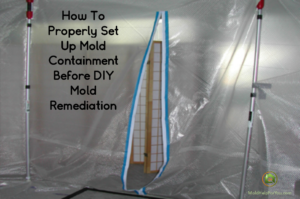 A mold containment chamber
