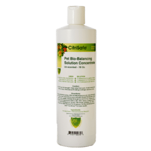 Bottle of CitriSafe Pet Bio-Balancing Solution